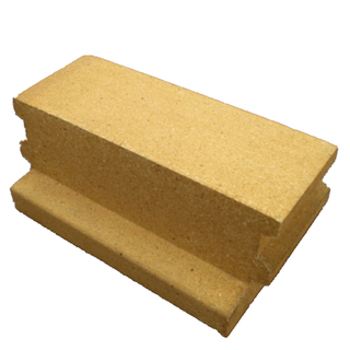 Phosphate bonded high alumina brick for cement industry