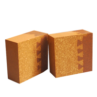 Silicone wear-resistant composite brick for transition zone